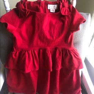 NWT Beautiful Red Kate Spade Girl's Dress